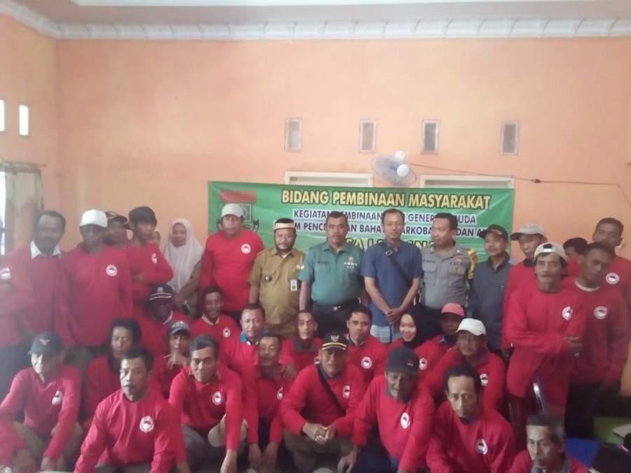 Desa Laksana Gelar Pembinaan Generasi Muda Dalam Pencegahan Bahaya Narkoba