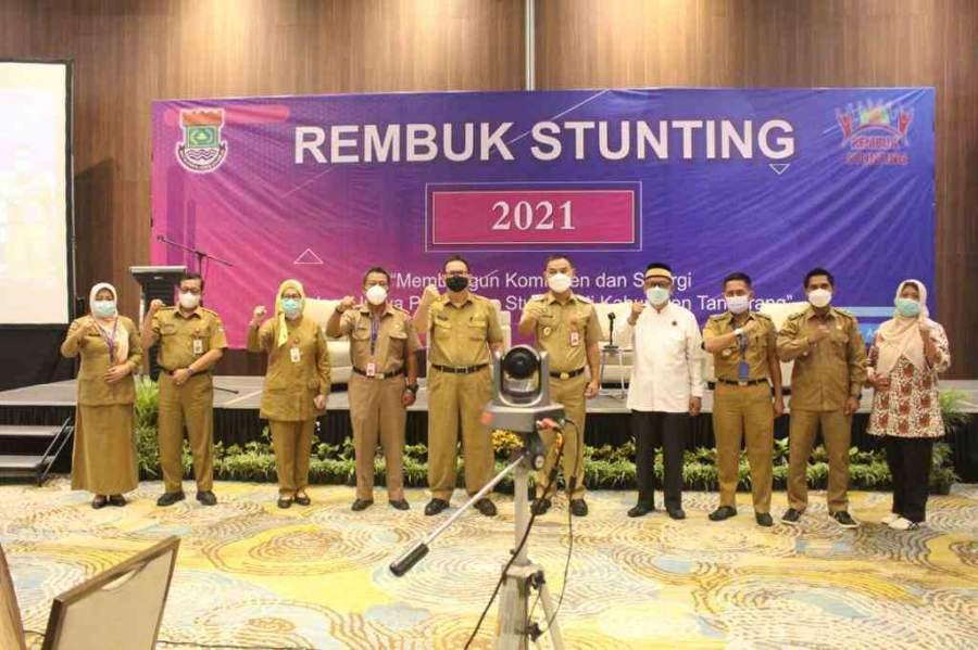 10 Desa Jadi Prioritas Penurunan dan Pencegahan Stunting Di Kabupaten Tangerang