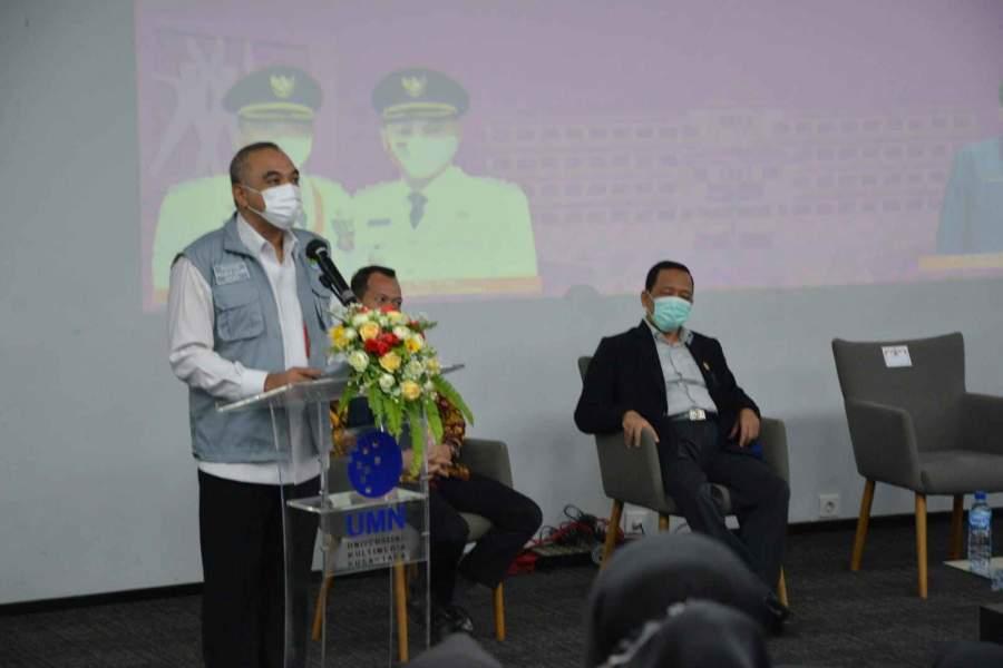 Bupati Zaki Buka Seleksi Tes CASN Kabupaten Tangerang