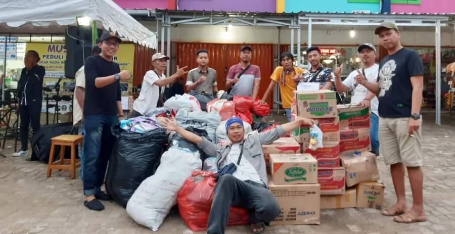 Musisi Tangerang bersatu galang dana untuk charity bencana di Lebak dan Tangerang