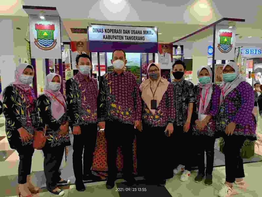 Promosikan Produk Unggulan di Bandung Indofest 2021, Pemkab Tangerang Raih Kategori Stand Terbaik
