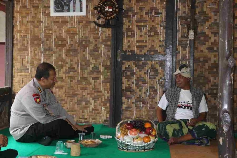 Kabidkum Polda Banten Saba Pesantren di Ponpes Dzikruloh Al-Mubarok