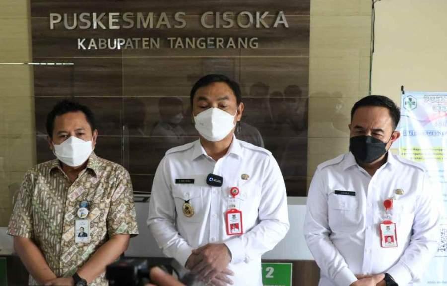 Wakil Bupati Tangerang Hadiri Launching QRIS Di Puskesmas Cisoka