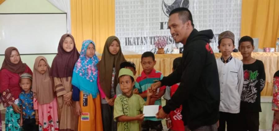 Kepedulian Ikatan Teknisi Ponsel Banten, dengan kaum Dhuafa