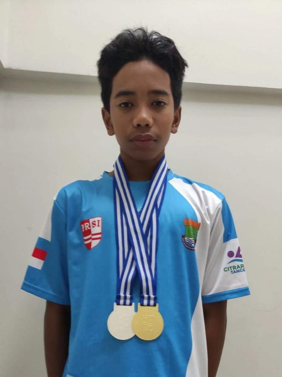 Arief Muhammad Atlet PRSI Raih Prestasi Cukup Gemilang