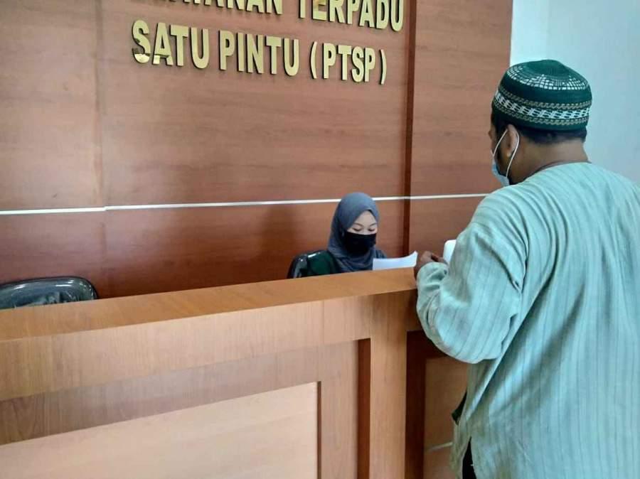 Warga Laporkan BST Ke Kejaksaan Negeri Kabupaten Tangerang