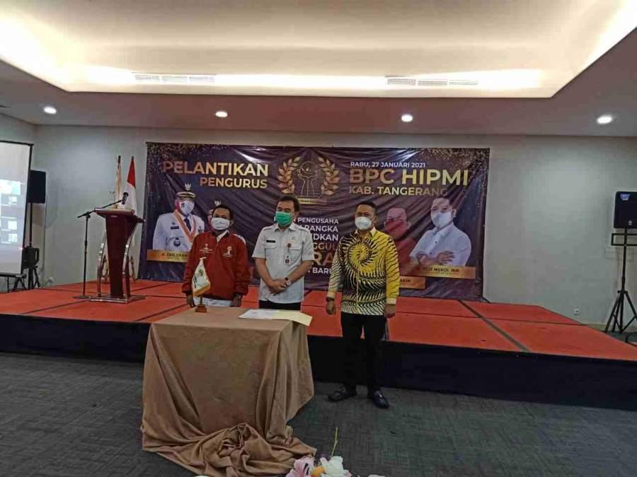 Lukman Nurhakim Resmi Pimpin BPC HIPMI Kabupaten Tangerang