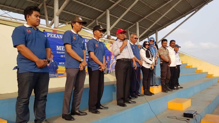 Pekan Olahraga Kecamatan Mekar Baru Resmi Dibuka