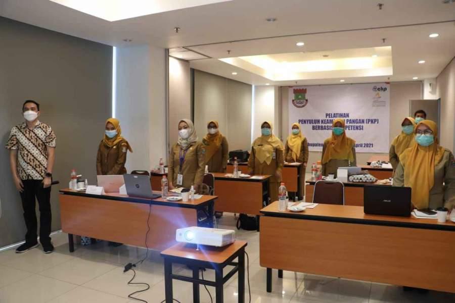 Demi Meningkatkan Kompetensi PKP dan DFI, Dinkes Kabupaten Tangerang Gelar Bimbingan Teknis