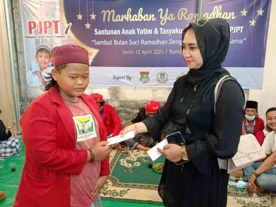 Sambut Ramadhan, Perkumpulan Jurnalis Pantura Tangerang (PJPT) Santuni Puluhan Anak Yatim Piatu
