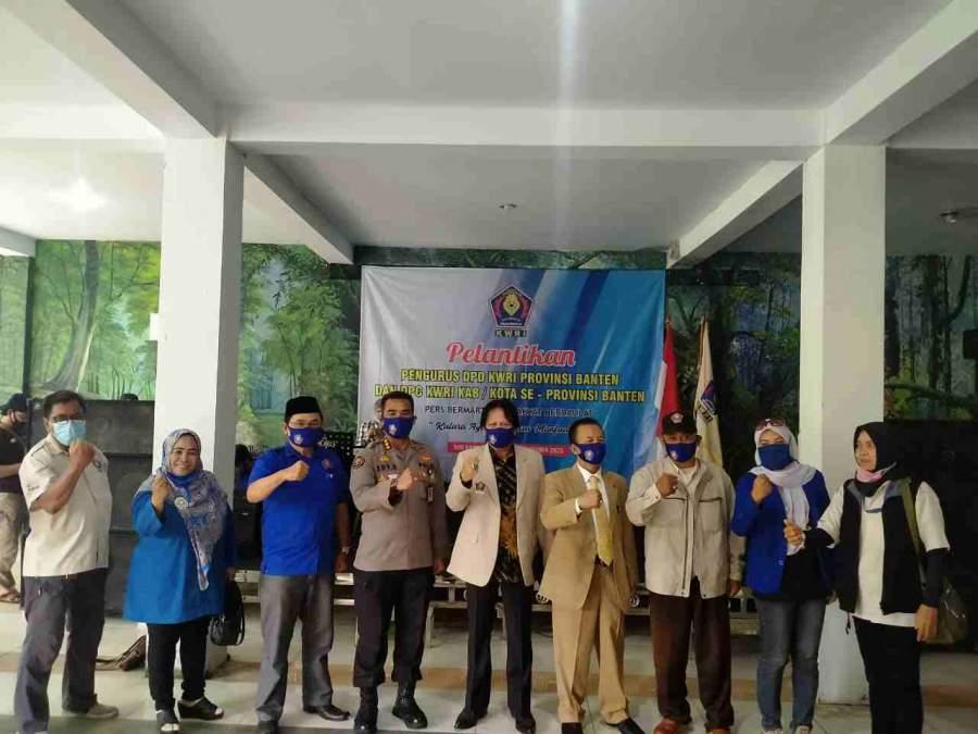 Foto : Kabid Humas Polda Banten Hadiri Pelantikan Pengurus KWRI