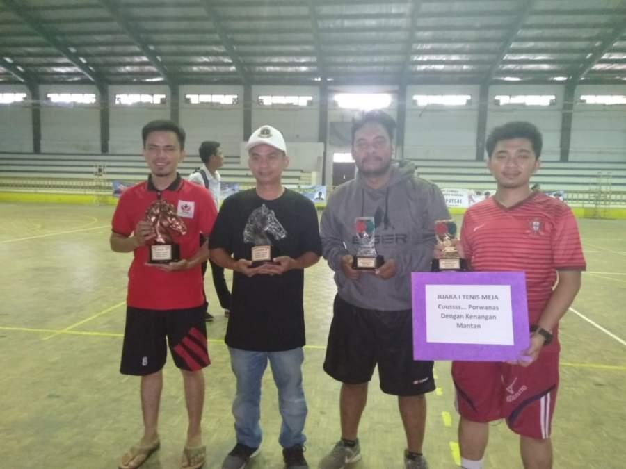 Hari Pertama Porwaban, PWI Tangerang Raih 4 Medali