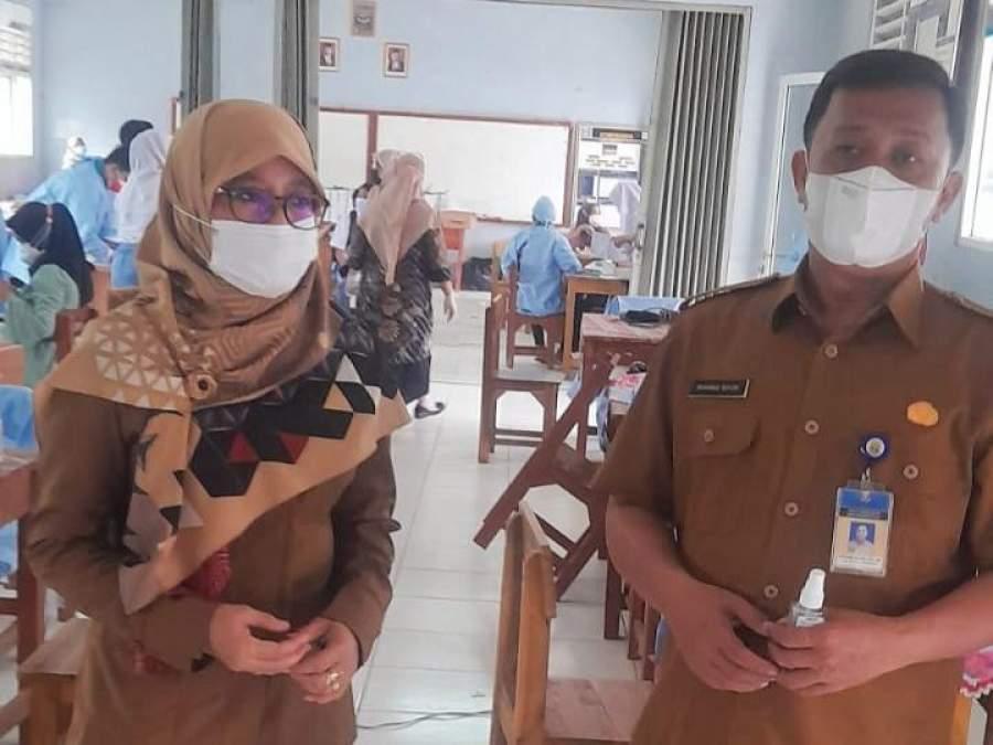 1200 Siswa SMAN 8 Kabupaten Tangerang Divaksin
