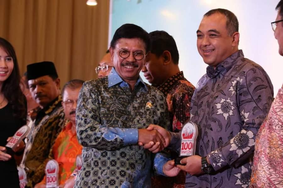 Pemkab Tangerang Raih Penghargaan Gerakan Menuju 100 Smart City