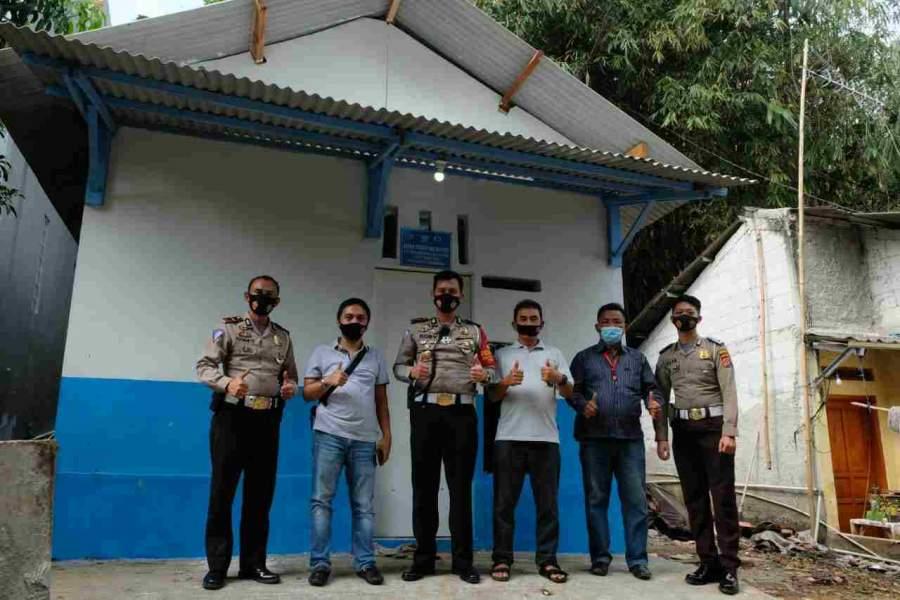 Foto : Penyerahan Kunci Rumah Hasil Bedah, Satlantas Polresta Tangerang