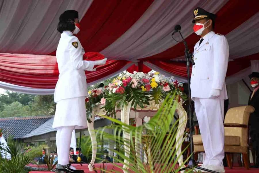 Upacara Bendera Di Kabupaten Tangerang Berlangsung Khidmat Meski Sederhana