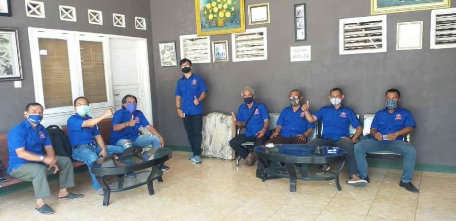 Foto : Jajaran dan Anggota DPC KWRI Kabupaten Lebak